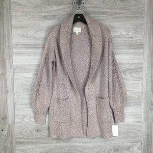 NWOT! hinge sweater cardigan size small